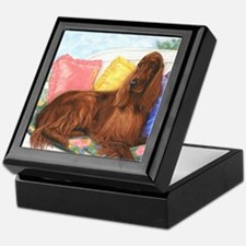 Irish Setter Keepsake Box