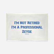Professional Zeyde Yiddish Rectangle Magnet