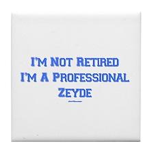 Professional Zeyde Yiddish Tile Coaster