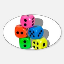 Dice Colorful Decal