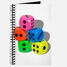 Dice Colorful Journal
