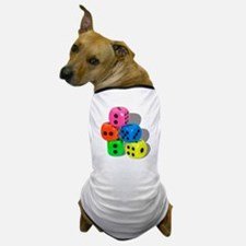 Dice Colorful Dog T-Shirt