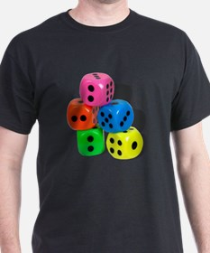 Dice Colorful T-Shirt