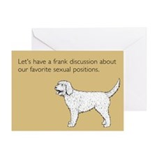 Sexual Positions Greeting Card