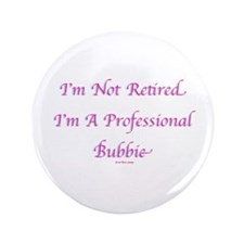 "Professional Bubbie Yiddish 3.5"" Button"