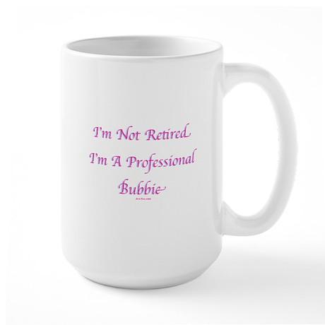 Professional Bubbie Yiddish Large Mug