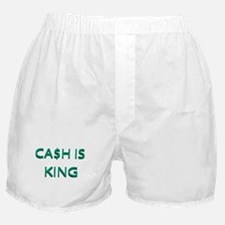 CASH IS KING Boxer Shorts