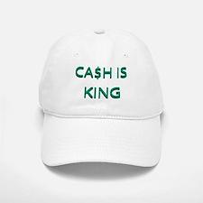 CASH IS KING Baseball Baseball Cap