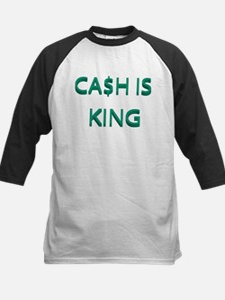 CASH IS KING Kids Baseball Jersey