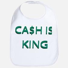 CASH IS KING Bib
