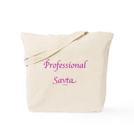 Professional Savta Hebrew Tote Bag