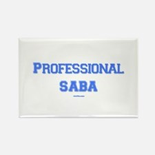 Professional Saba Hebrew Rectangle Magnet