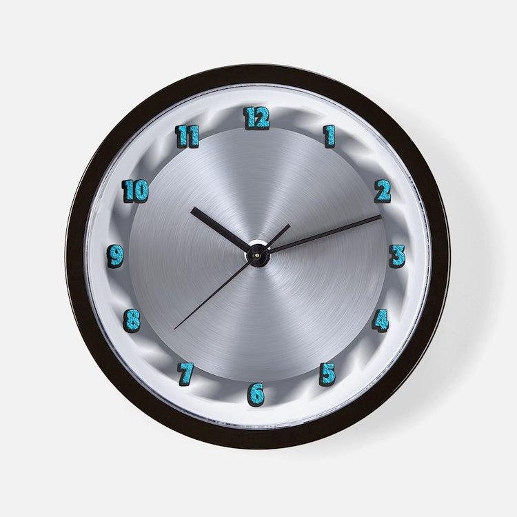 The BuzzSaw Wall Clock