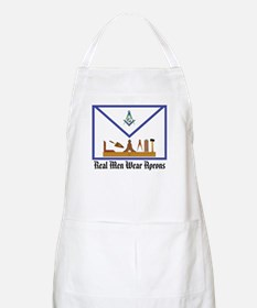 Masonic Real Men BBQ Apron