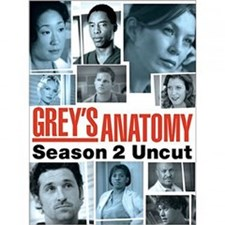 Grey's Anatomy: The Complete Second Season DVD