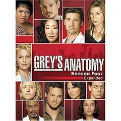 Grey's Anatomy: The Complete Fourth Season DVD