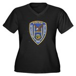 University Heights Police Women's Plus Size V-Neck