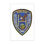 University Heights Police Mini Poster Print