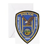 University Heights Police Greeting Cards (Pk of 20