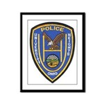 University Heights Police Framed Panel Print