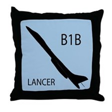 B1 Silhouette Throw Pillow