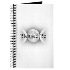 Blessed Be (triple crescent) Journal