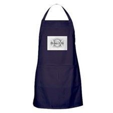 Blessed Be (triple crescent) Apron (dark)