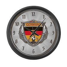 Germany Soccer Large Wall Clock