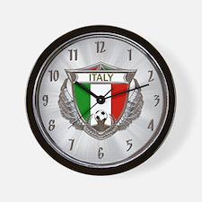Italy Soccer Wall Clock