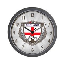English Soccer Wall Clock