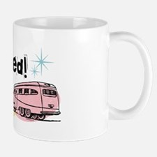 Retro Trailer Just Hitched Mug