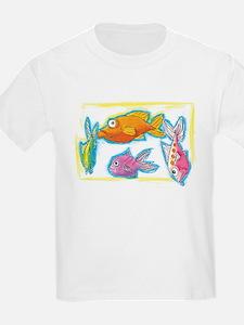 Crazy Fish Kids T-Shirt