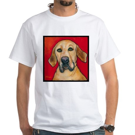 "Lab Hound ""Apollo"" White T-Shirt"