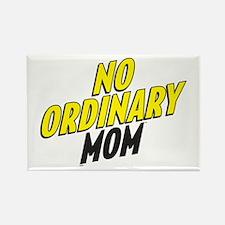 No Ordinary Mom Rectangle Magnet