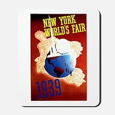 Vintage New York World's Fair Mousepad