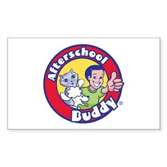 Afterschool Buddy Sticker (Rectangle)