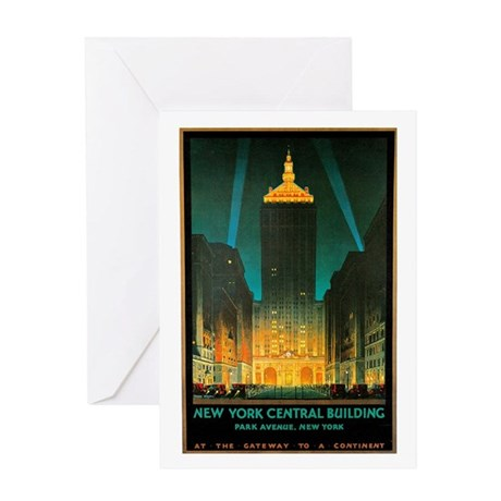 Vintage New York Central Building Greeting Card