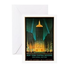 Vintage New York Central Building Greeting Cards (