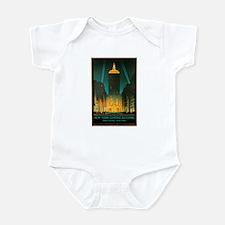 Vintage New York Central Building Infant Bodysuit