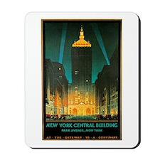 Vintage New York Central Building Mousepad