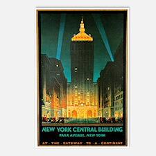 Vintage New York Central Building Postcards (Packa
