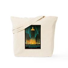 Vintage New York Central Building Tote Bag
