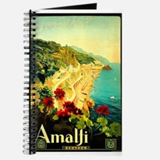 Vintage Amalfi Italy Travel Journal