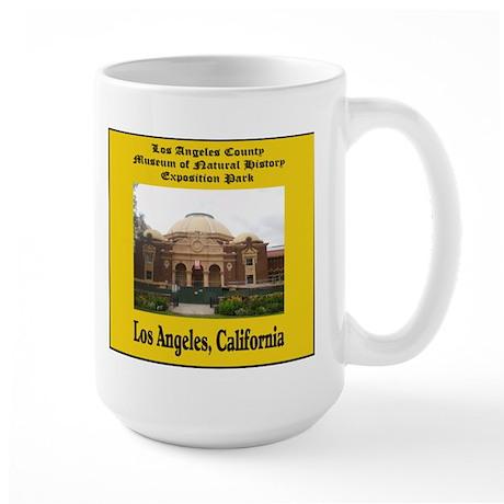 Los Angeles Museum of Natural Large Mug