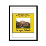 Los Angeles Museum of Natural Framed Panel Print