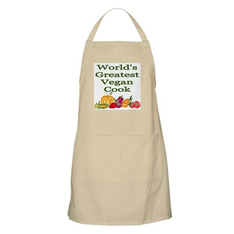 World's Greatest Vegan Cook Kitchen/BBQ Apron