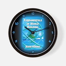 Cute Speculative fiction Wall Clock