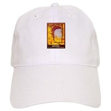 Vintage Rome Express Train Deluxe Baseball Cap