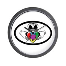 Autism Spectrum Awareness Wall Clock