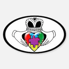 Autism Spectrum Awareness Sticker (Oval)